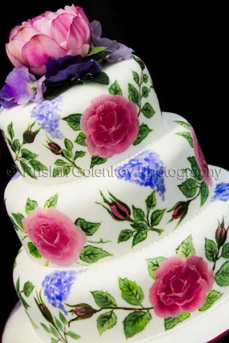 Rose Wedding Cake - Pipedreams